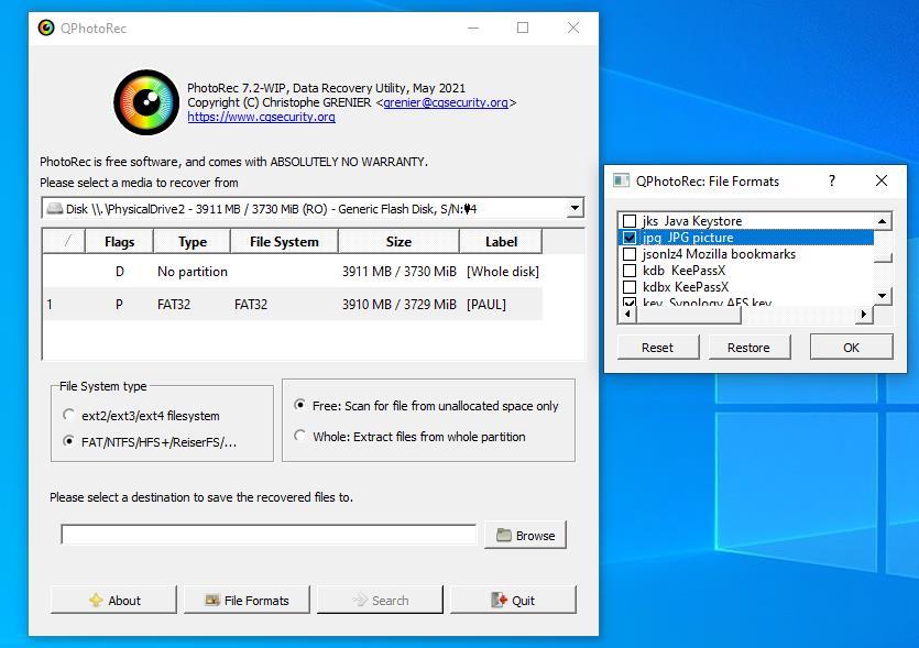 Recuperare poze șterse din telefon Samsung pe PC