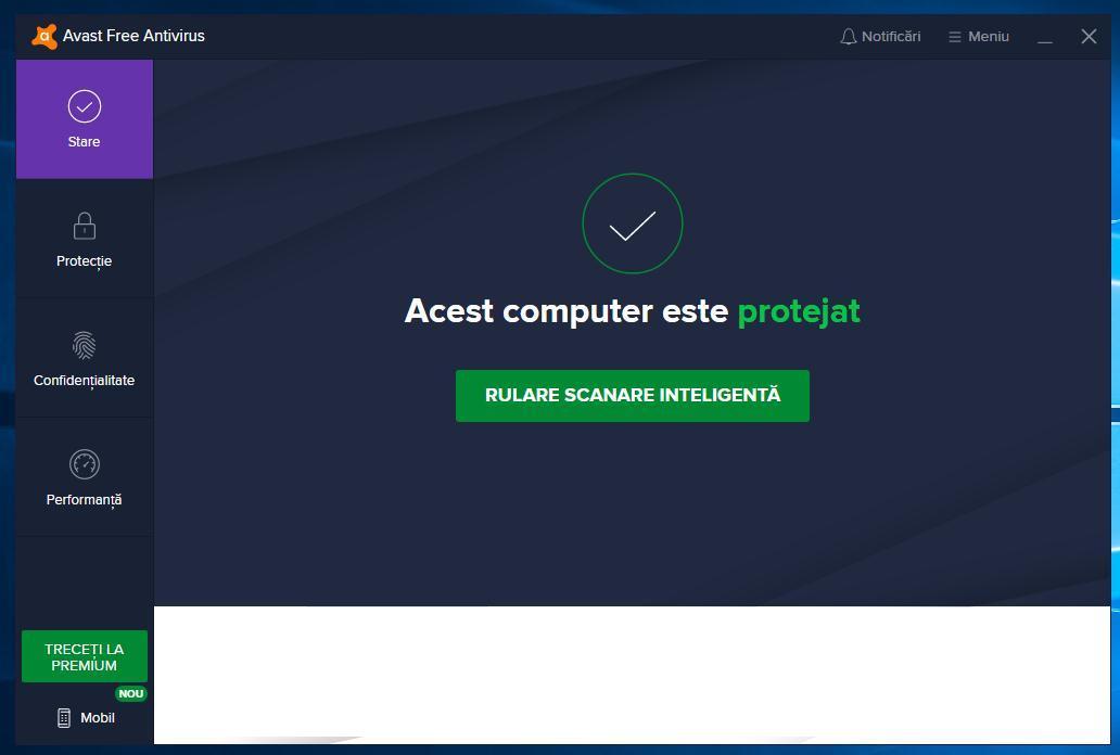 Alte programe antivirus pentru Windows 10