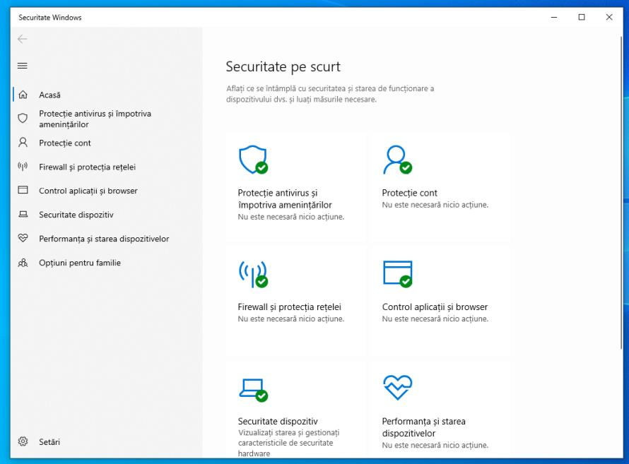 Antivirus Windows Defender