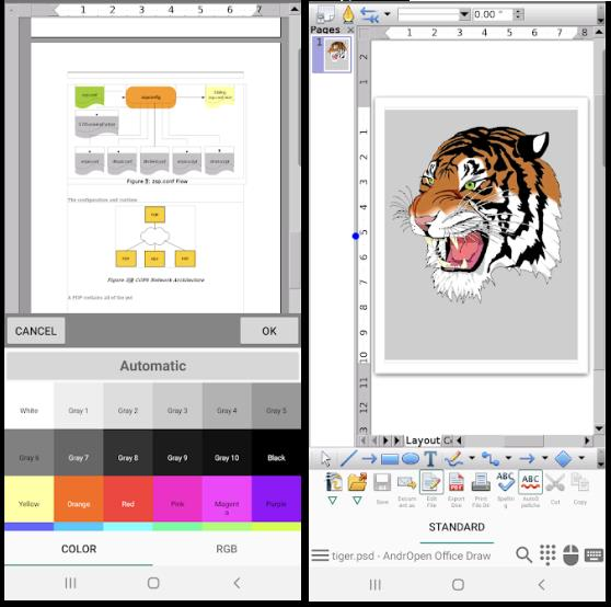 Descarcă LibreOffice pe telefon Andriud