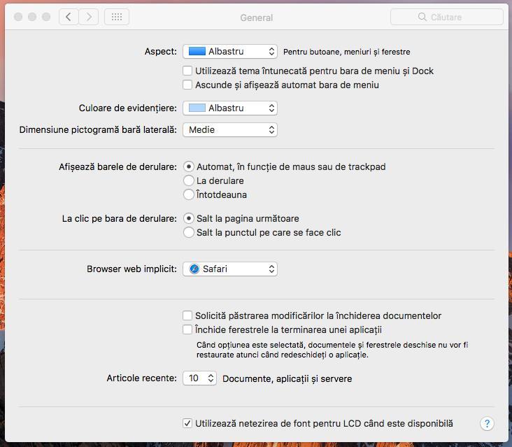 Schimbarea browserului implicit pe Mac