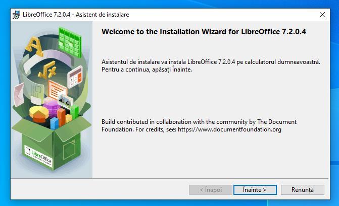 Descarcă LibreOffice pentru Windows