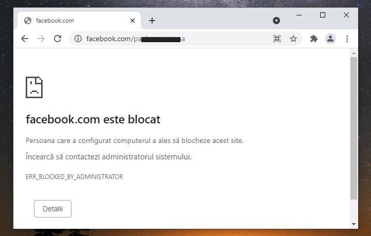 Blocare profil Facebook - cum blochezi accesul la Facebook