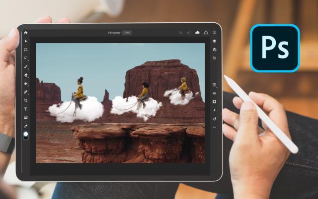 Adobe Photoshop pentru iPad