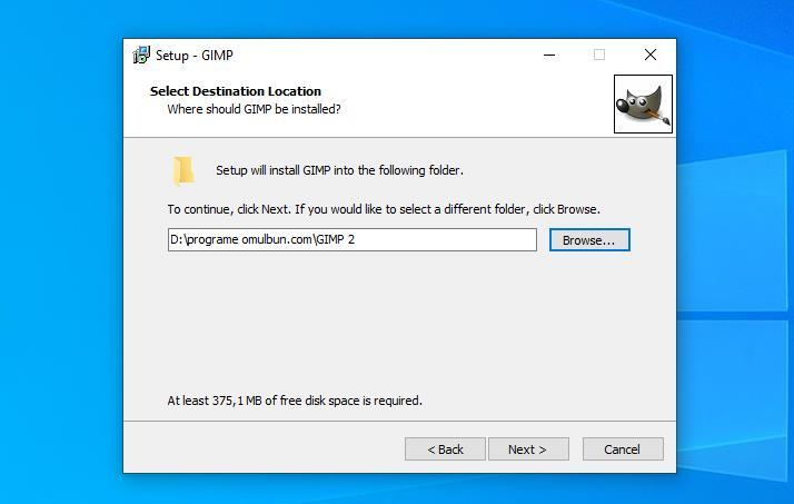 Instalare GIMP pe PC